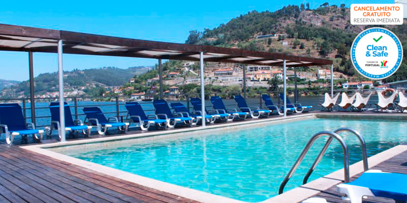Hotel Porto Antigo 4* - Douro   Estadia com Vista Rio e Opção Jantar