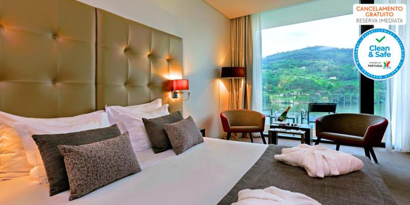 Douro Royal Valley Hotel & Spa 5* - Baião | Estadia Vista Rio & Spa com Opção Jantar e Massagens