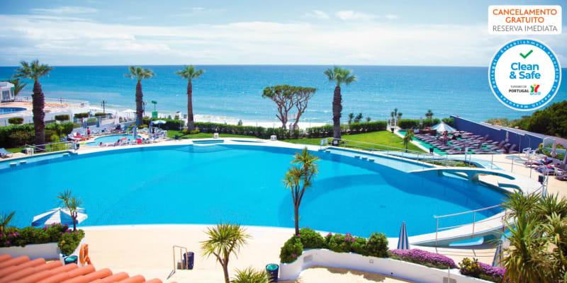 Grand Muthu Oura View Beach Club 5* - Albufeira    Estadia em Família em Apartamento Deluxe na Praia da Oura c/ Opção Entradas Parques