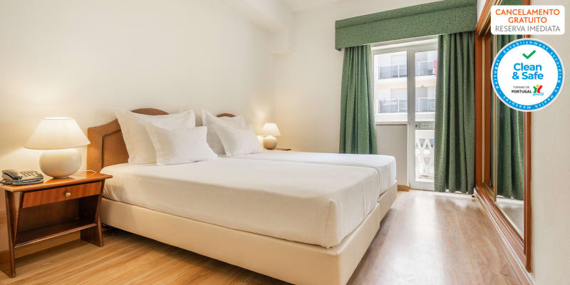 Hotel Baía de Monte Gordo 3* - Algarve | Estadia Romântica Junto à Praia