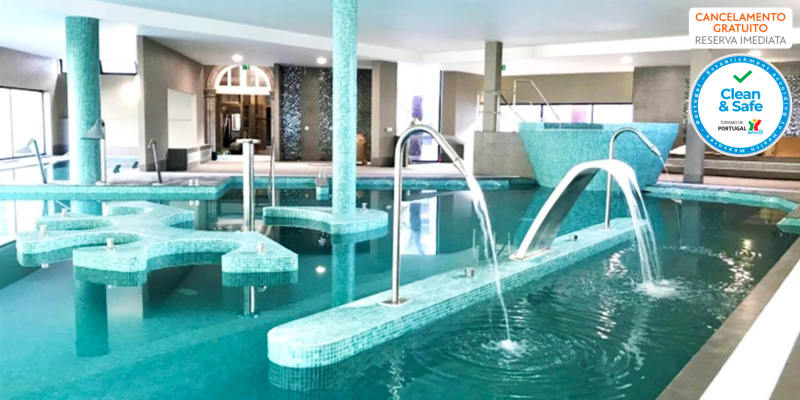 Hotel Bienestar Termas de Vizela 4* | Estadia & Spa com Opção Jantar, Massagem e Pack Romântico