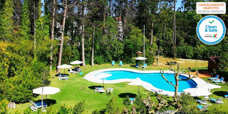 Programa de Verão: Férias a Dois ou em Família com Meia-Pensão no Hotel das Termas da Curia