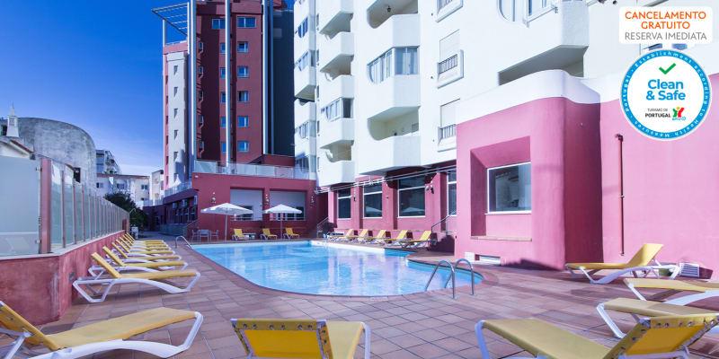Programa de Verão: Férias em Família com Meia-Pensão no Hotel Quarteirasol 4*