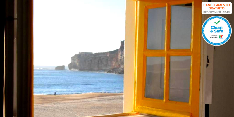 Hotel Ribamar - Nazaré | Estadia Junto à Praia com Opção Jantar