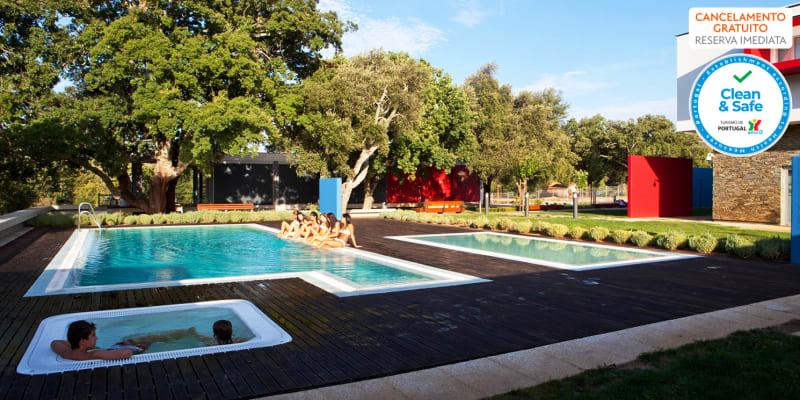 Hotel Santa Margarida 4* - Oleiros | Estadia Romântica com Opção Jantar e Massagens