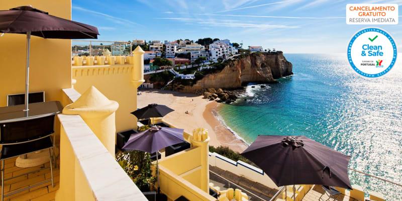 Castelo Guest House - Praia de Carvoeiro   Estadia Romântica em Quarto com Vista Mar