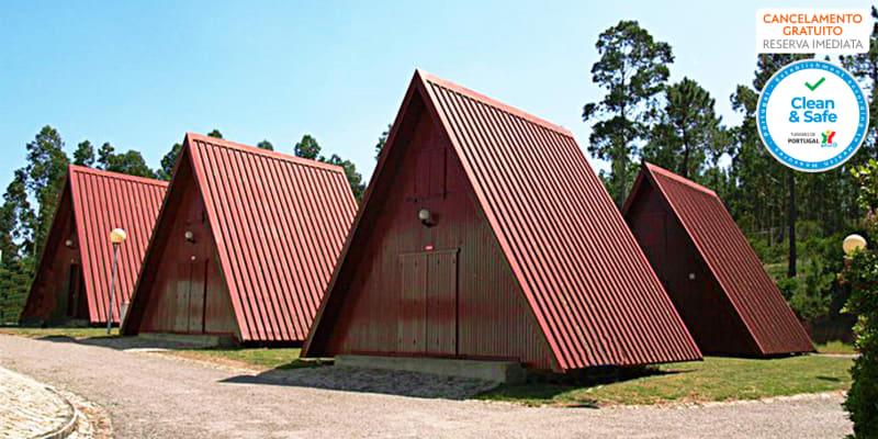 Parque de Campismo de Luso | Estadia em Bungalow na Mata do Buçaco com Opção Pack Romântico