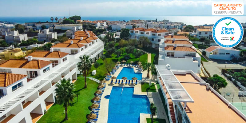Pateo Village - Albufeira | Estadia em Apartamento T0 com Piscina Junto à Praia c/ Opção Entradas Parques