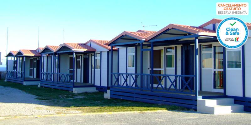 PenichePraia - Bungalows, Campers & Spa | Estadia em Bungalow para 4 pessoas com Opção Acesso ao Spa