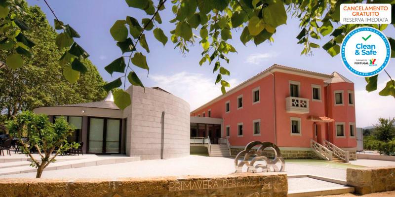 Primavera Perfume Hotel - Vila Real | Estadia & Spa no Norte do País com Opção Jantar
