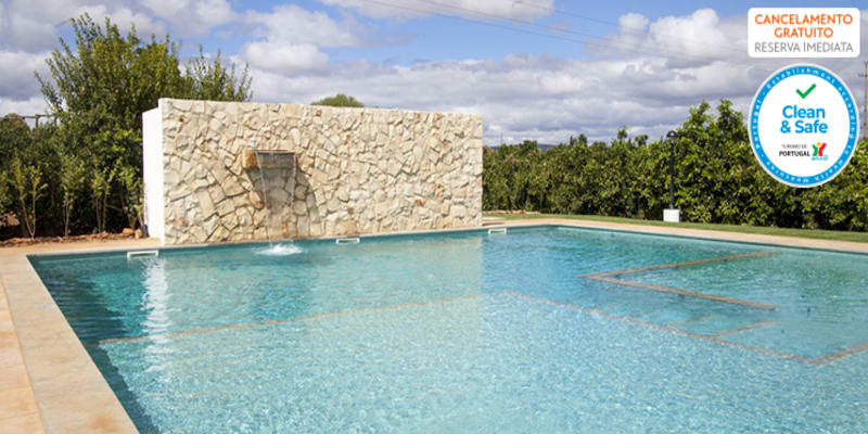 Quinta dos I´s - Silves   Estadia Romântica com Opção Entradas Parques