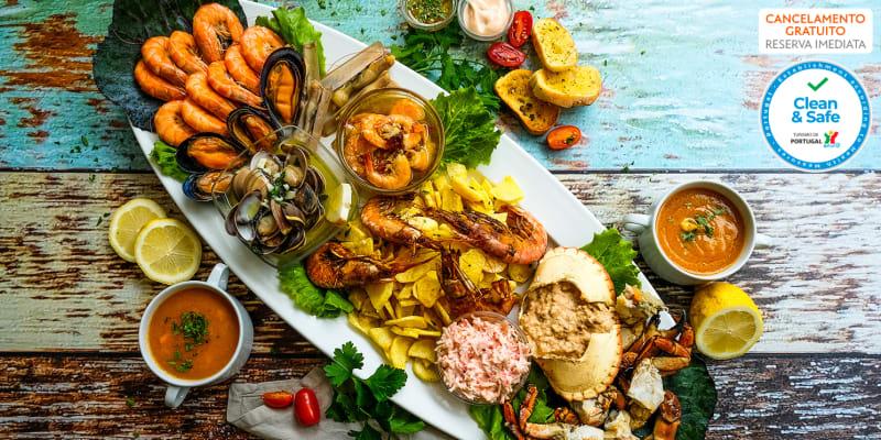 Mariscada com Tudo Incluído para Dois | Restaurante Alcazar