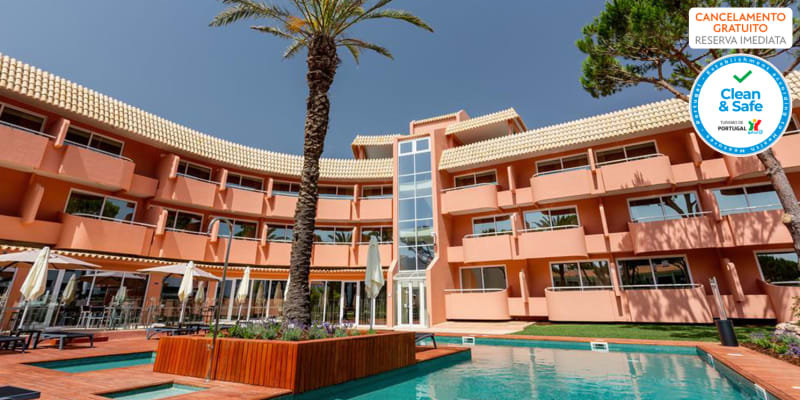 Vilamoura Garden Hotel 4* - Algarve | Estadia com Opção Meia-Pensão, Massagem e Entradas Krazy World