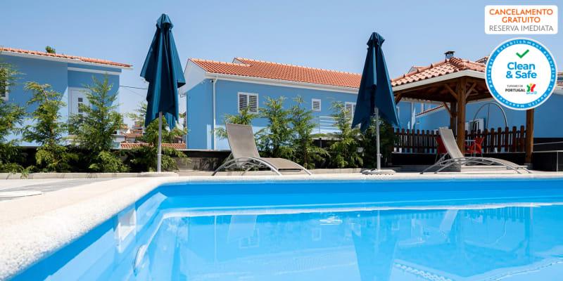 Villa Montês Guesthouse - Arganil | Estadia em Apartamento com Piscina Junto à Praia Fluvial & Opção Jantar
