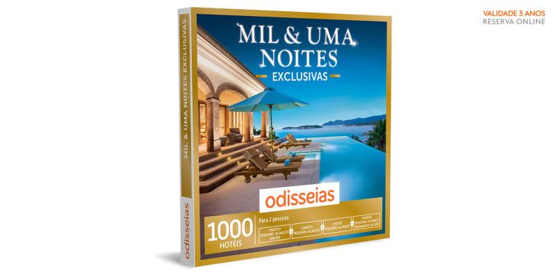 Mil & Uma Noites Exclusivas - 1 ou 2 noites e Spa ou jantar   1000 Hotéis