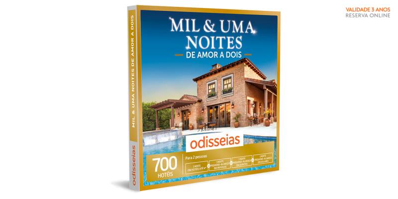 Mil & Uma Noites de Amor a Dois   700 Hotéis