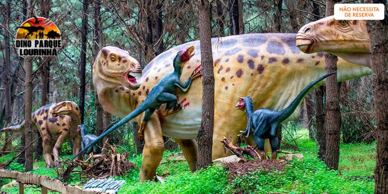 Dino Parque da Lourinhã - Uma Viagem de 400 Milhões de Anos! Entrada Criança ou Adulto