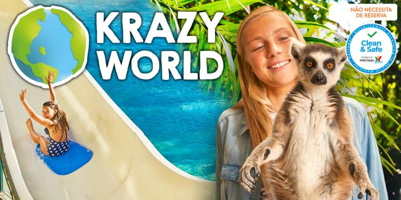 Diversão é no Krazy World! Um Dia em Cheio para Toda a Família - Algarve
