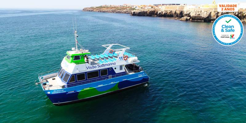 Passeio de Catamaran para Dois c/ Opção Stand Up Paddle e Snorkeling | Largo de Peniche