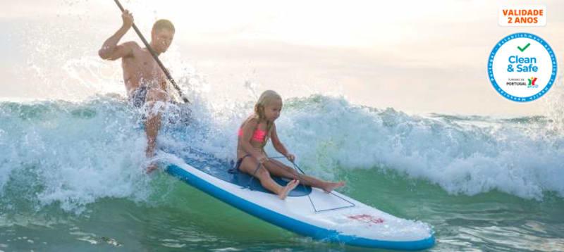 SUP Experience em Oeiras | 1 Hora de Stand Up Paddle para 1 ou 2 Pessoas | Enjoy It!