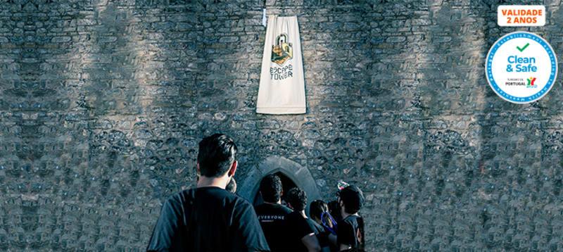 Escape Tower na Torre Medieval de Óbidos | Jogo de 1 Hora para 2 a 5 Pessoas