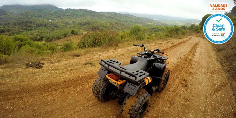 Passeio de Moto 4 pela Serra da Arrábida c/ Opção Almoço - 25km | Kartarrabida