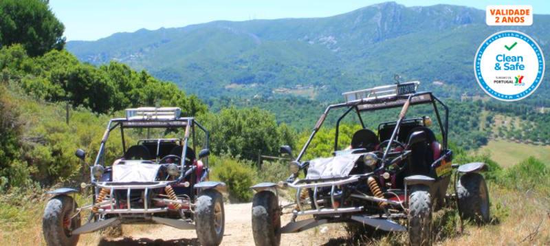 Passeio de Kartcross a Dois pelo Parque Natural da Serra da Arrábida - 10km | Kartarrabida
