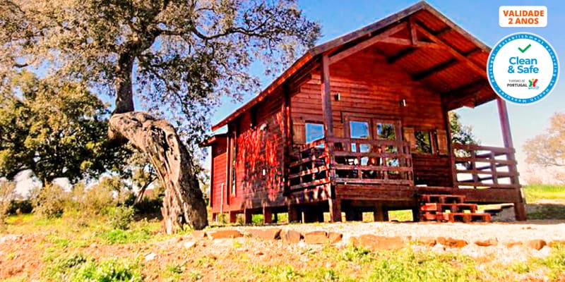 Monte Gois Country House & Spa | Noites em Bungalow no Alentejo com Opção Jantar