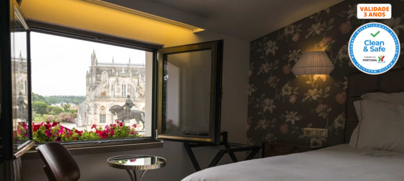 Hotel Lis Batalha Mestre Afonso Domingues - Batalha | Estadia com Opção Jantar ou Grutas Mira d´Aire