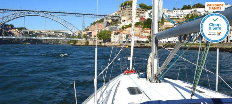 Da Ribeira à Foz! Passeio de Barco no Douro - Exclusivo p/ 4 a 6 Pessoas | 2 Horas