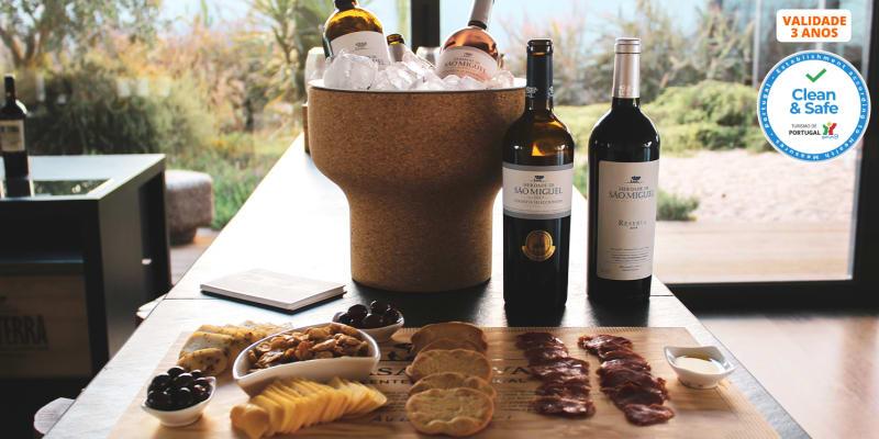 Visita à Quinta & Prova de Vinhos no Alentejo | 1 ou 2 Pessoas | Casa Relvas