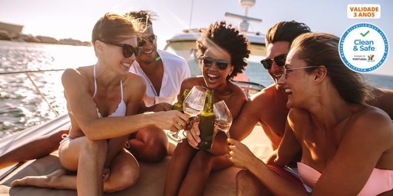 Passeio de Veleiro no Tejo para 2 ou em Exclusivo até 10 Pessoas | Manhã, Tarde ou Sunset - 2h | Pypas Cruises