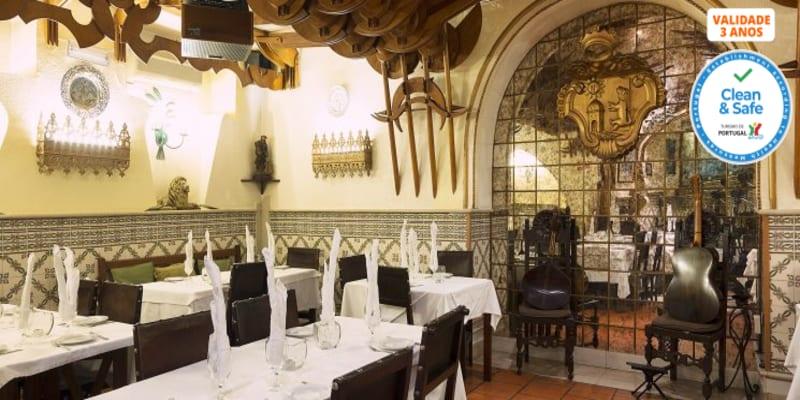 Jantar Romântico & Fado para Dois em Alfama   Taverna d´el Rey