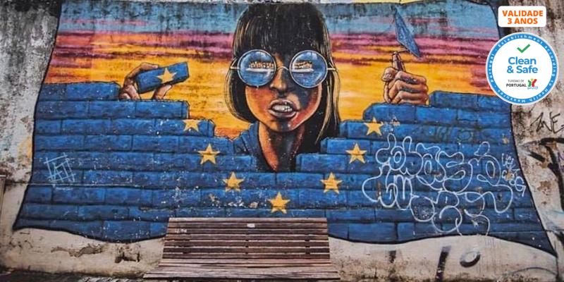 «Street Art Tour» Passeio Guiado pela Arte Urbana de Lisboa | 2h30