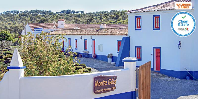 Monte Gois Country House & Spa | Estadia Romântica num Monte Alentejano com Opção Jantar