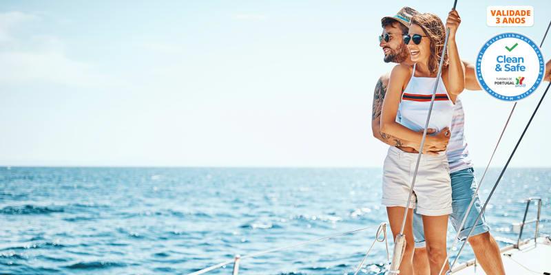 Passeio a Dois em Catamaran no Rio Tejo | 2 Horas