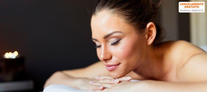 Massagem às Costas + Pressoterapia + Fototerapia LED + Detox de Rosto | Slim Lab Cascais