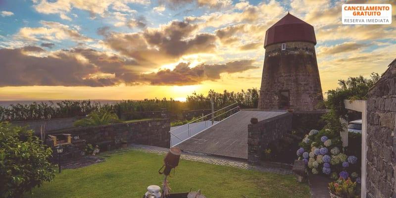O Moinho da Bibi - Açores | Estadia de Romance com Vista Mar