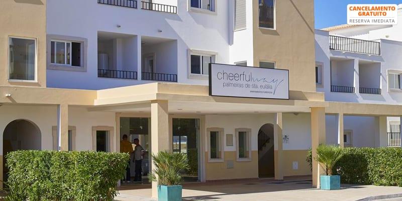 Cheerfulway Palmeiras de Santa Eulália - Praia da Oura | Férias em Família em Apartamento T1
