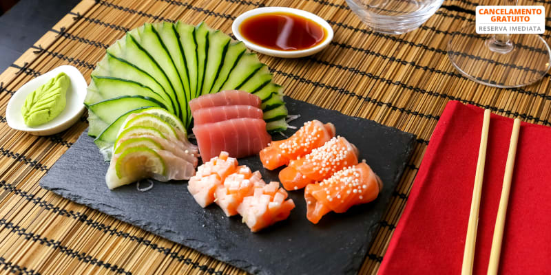Amantes de Sushi! Combinado de 40 Peças + Sobremesa | Kyonagi Sintra