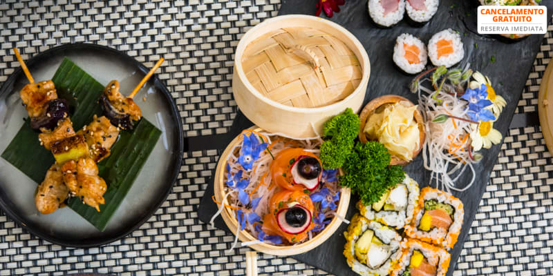 Sushi de Autor para Dois: 35 Peças | Kyoto na Baixa do Porto