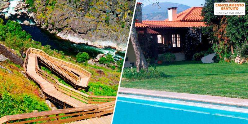 Quinta do Pomarinho - Arouca | Estadia de 1 ou 2 Noites com Opção Entradas nos Passadiços de Paiva