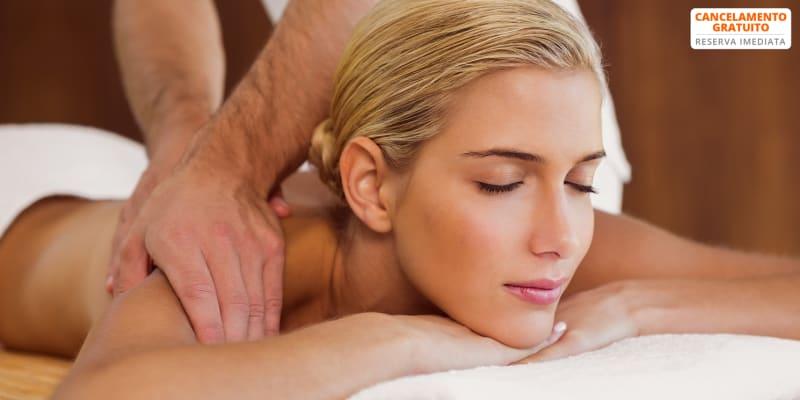 Massagem de Relaxamento Costas & Cabeça c/ Óleos - 40 Min   S. João da Madeira