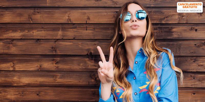 Coloração ou Madeixas c/ Corte & Brushing para Look Trendy | Oeiras