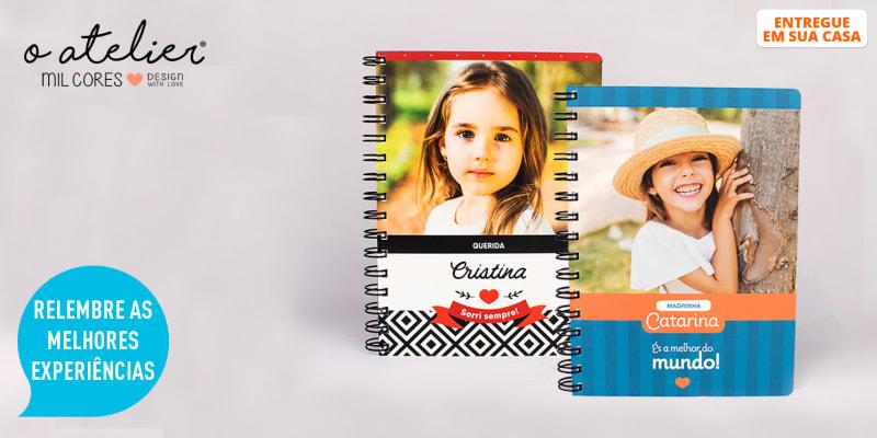 Notebook Personalizável c/ Foto e Nome para a Cara-Metade | Entregue em Casa