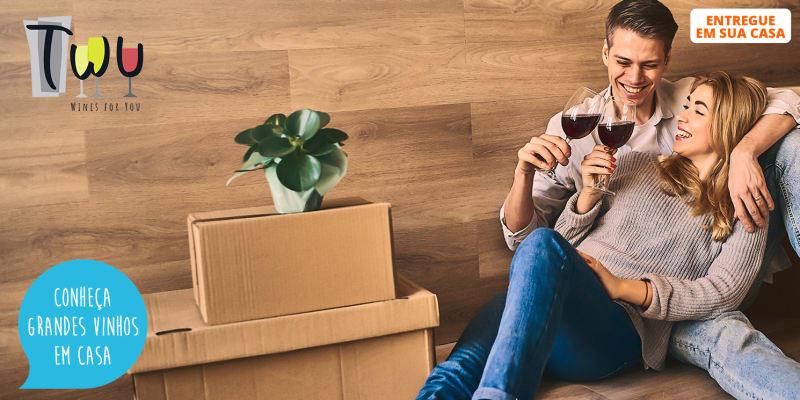 Faça uma Prova de Vinhos em Casa! Box c/ 2 Garrafas de Vinho | TWU - Wines For You