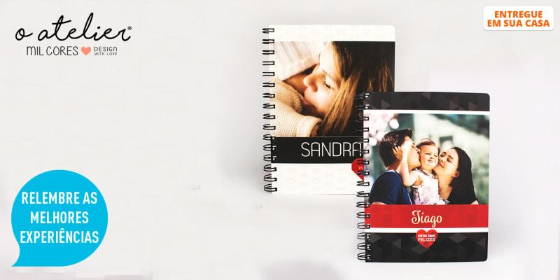 Notebook Personalizável c/ Foto e Nome para Uma Pessoa Especial | Entregue em Casa