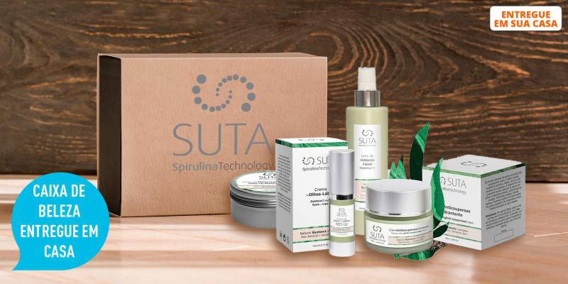 Box de Beleza Personalizada Entregue em Sua Casa! Até 5 Produtos de Rosto Escolhidos para Si | SUTA