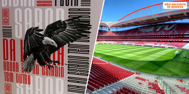 Presente SLB para Dois! Cachecol + Visita ao Estádio & Museu + Refeição no Red Snack | Lisboa