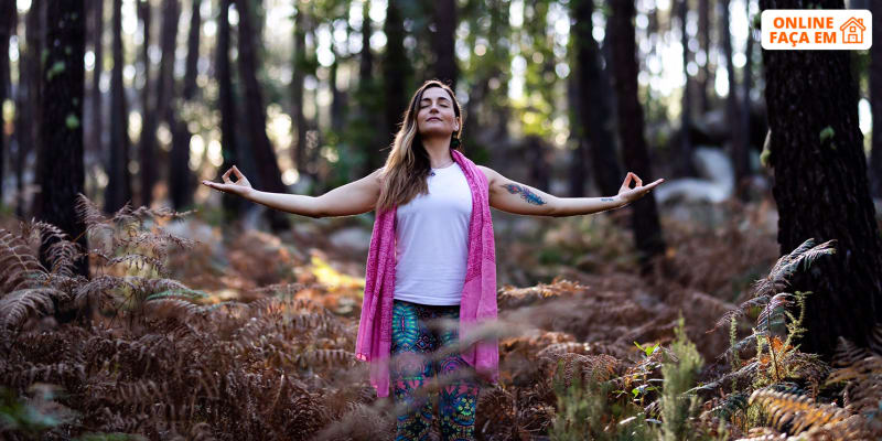 Aula Online de Iniciação à Meditação c/ Manual - 1h | Filipa YogaLover